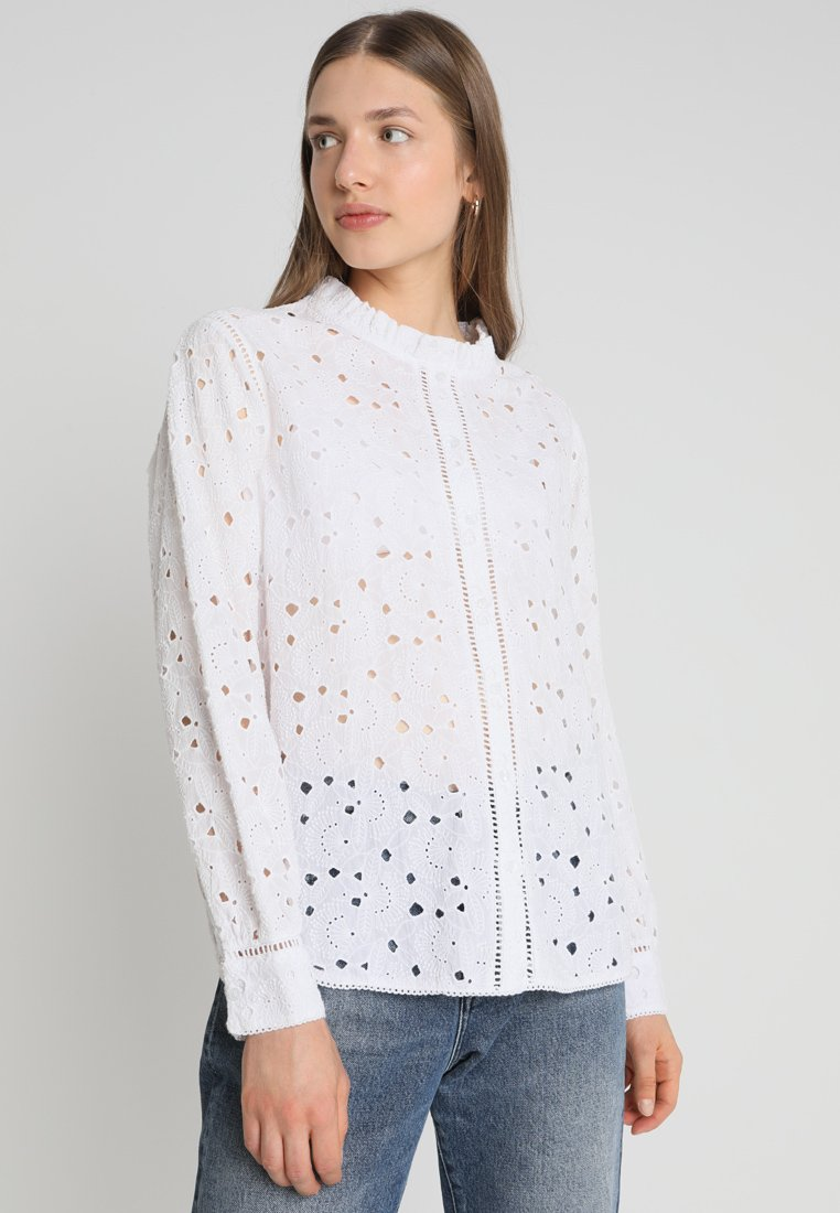 Second Female - LINDY - Button-down blouse - white