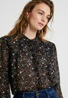 Second Female - GENTLY BLOUSE - Bluser - black