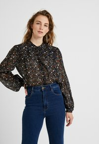 Second Female - GENTLY BLOUSE - Blouse - black - 0