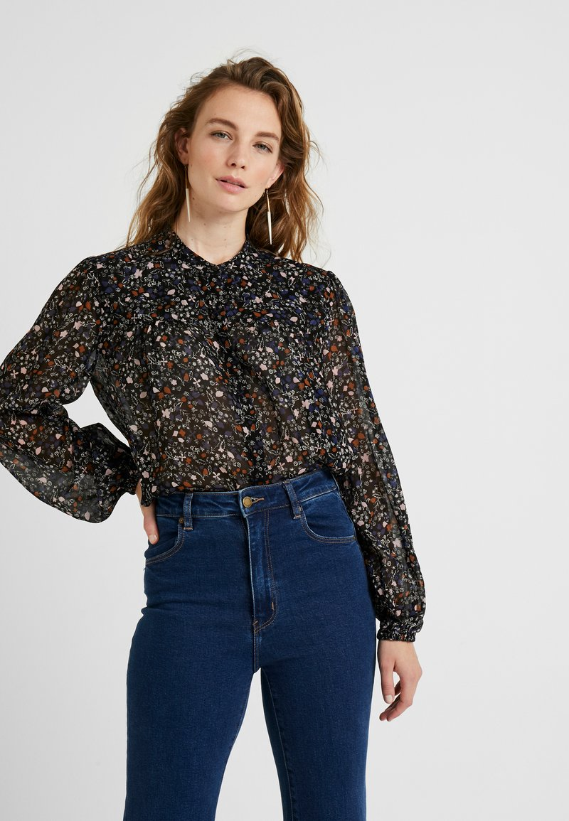 Second Female - GENTLY BLOUSE - Blouse - black