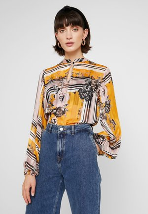 VALLEY BLOUSE - Blus - inca gold