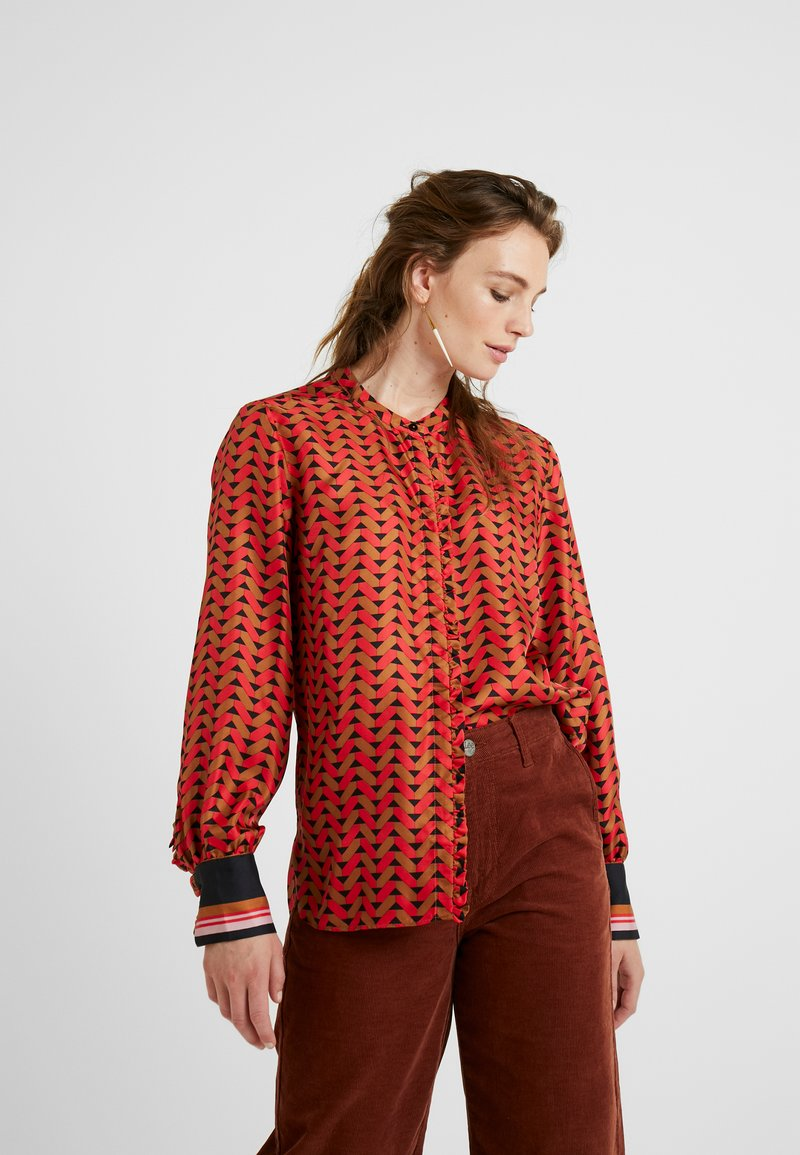 Second Female - TILES - Blouse - lychee