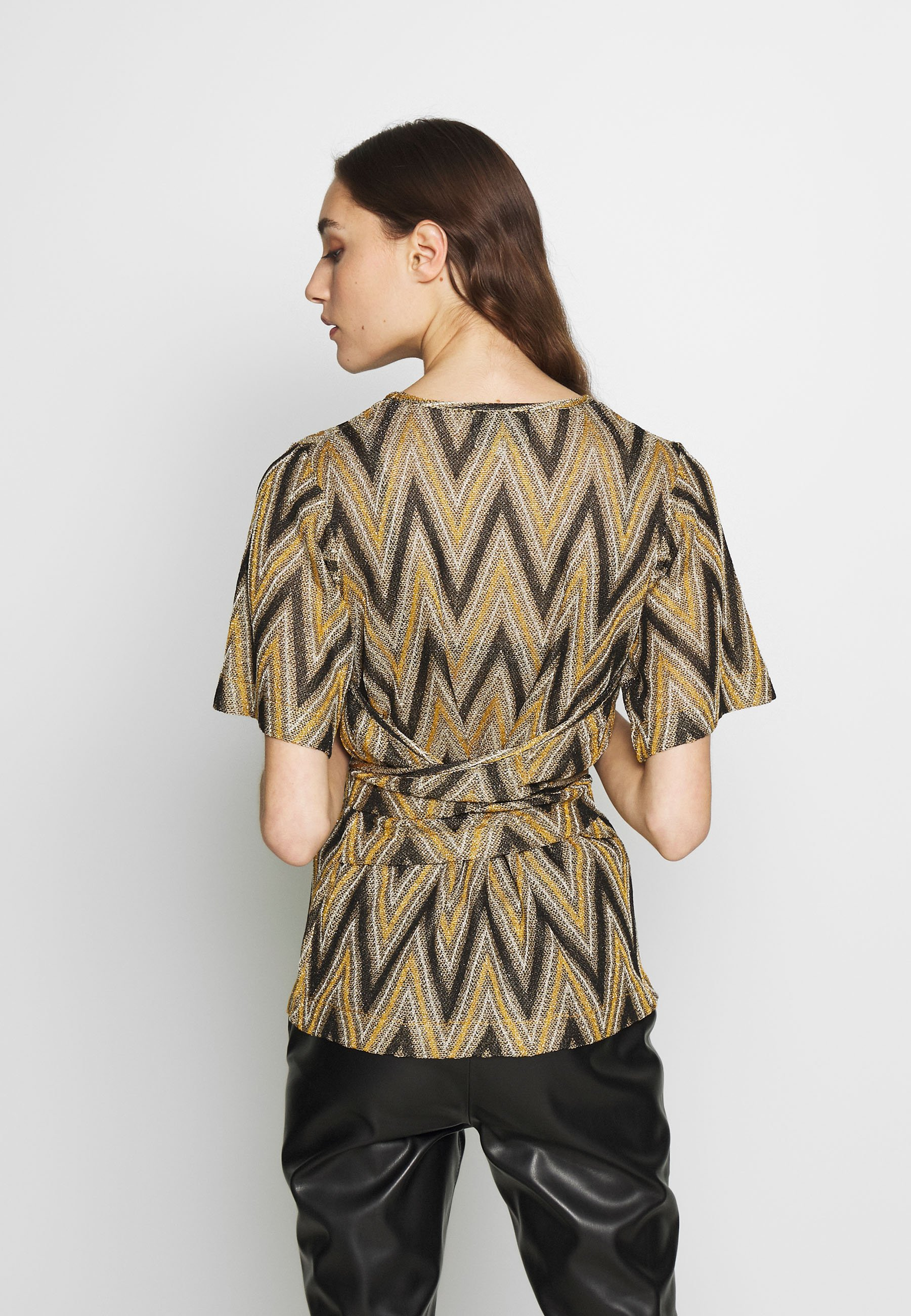 Second Female URSA - T-shirts med print - yellow/brown