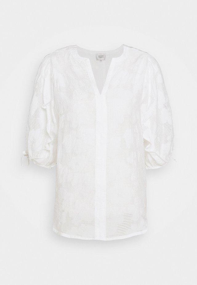 MILA BLOUSE - Blouse - white alyssum