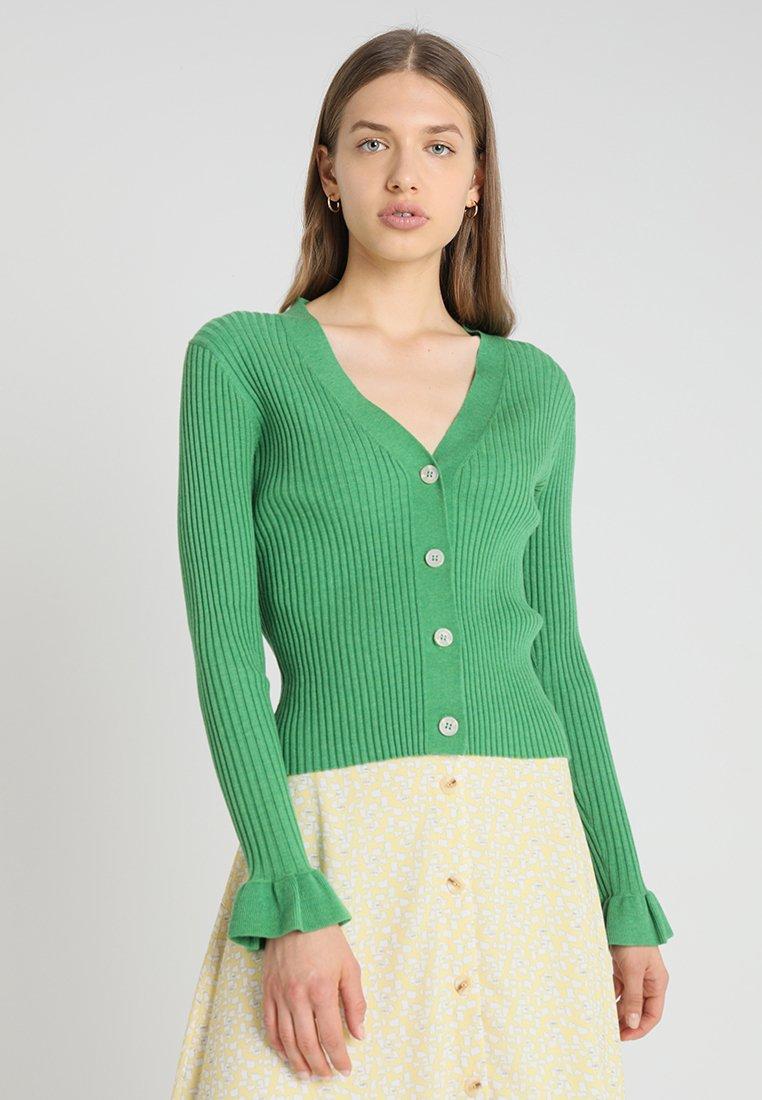 Second Female - MARIELLA CARDIGAN - Cardigan - medium green