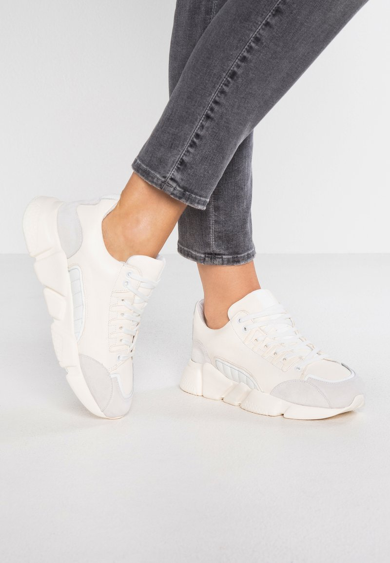 Selected Femme - SLFVIRA TRAINER - Trainers - white