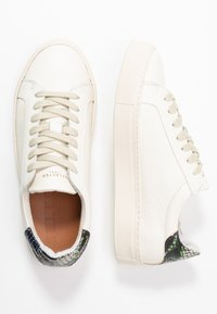 Selected Femme - SLFDONNA NEW CONTRAST TRAINER  - Sneakers laag - watercress - 3