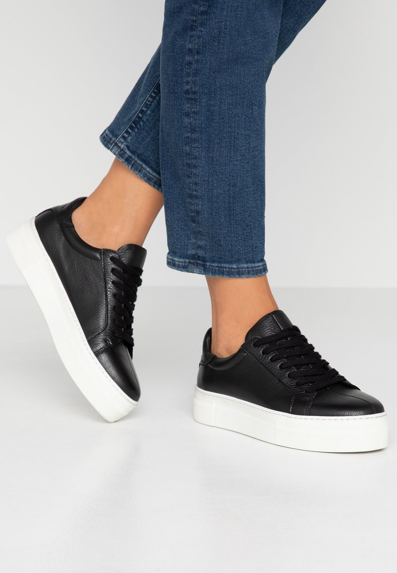 Selected Femme - SLFANNA TRAINER - Sneakers - black