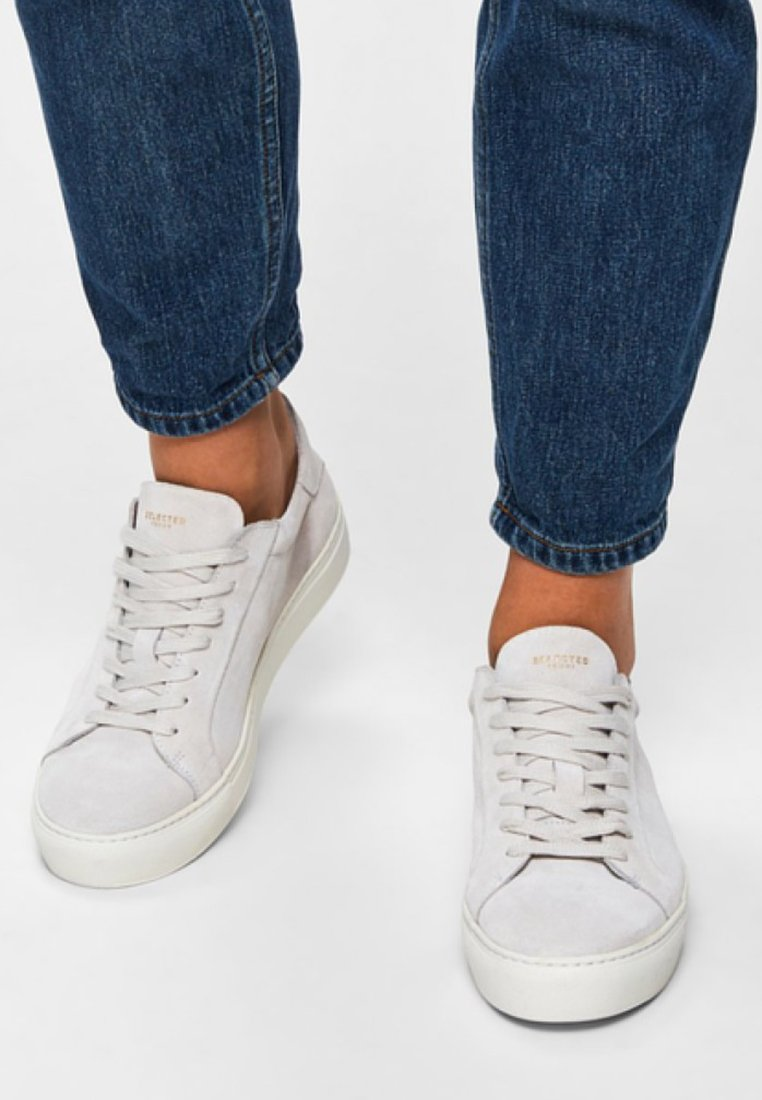 Selected Femme - Sneaker low - white