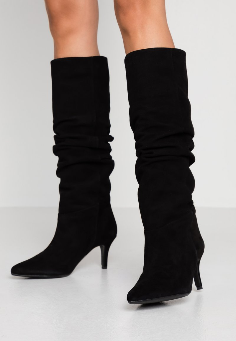 Selected Femme - SLFLEA POINTY - Boots - black