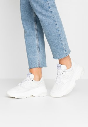 SLFGAVINA TRAINER - Sneakers laag - white