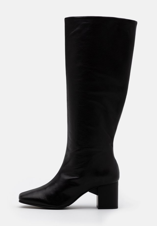 SLFZOEY HIGH SHAFTED BOOT - Stiefel - black
