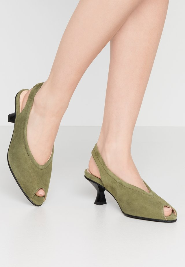 SLFKLARA SLINGBACK - Klassiske pumps - watercress