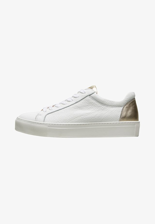 SFDONNA CONTRAST - Trainers - gold