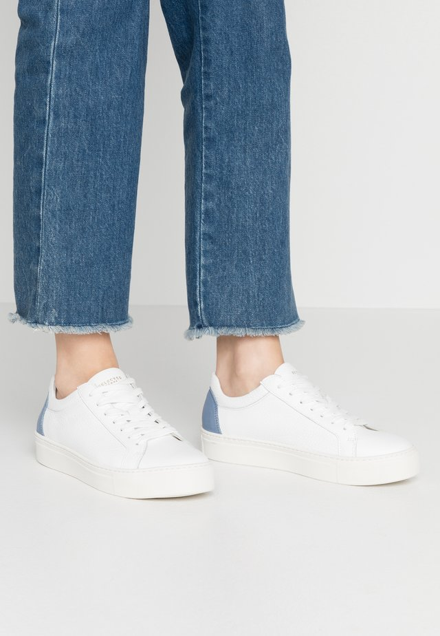 SFDONNA CONTRAST - Sneakers - country blue