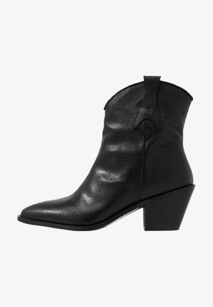 SLFANNIE CLEAN BOOT - Santiags - black