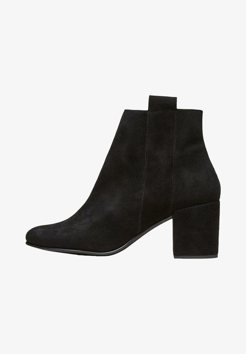 Selected Femme - SLFSANA NEW BOOT - Botines - black