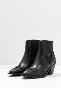 Selected Femme - SLFSWEETS  - Korte laarzen - black - 4