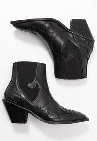 Selected Femme - SLFSWEETS  - Korte laarzen - black - 3