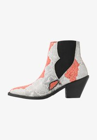Selected Femme - SLFSWEETS CLEAN - Ankle boots - cranberry - 1