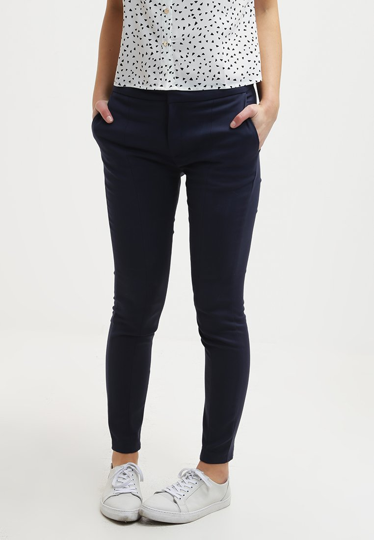 Selected Femme - SFMUSE - Trousers - navy blazer