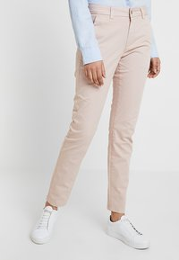Selected Femme - SLFMEGAN - Chino kalhoty - adobe rose - 0