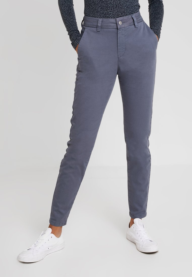Selected Femme - SLFMEGAN - Chino - ombre blue