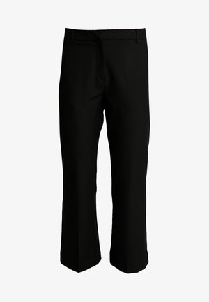 SLFADA CROPPED FLARED PANT NOOS - Trousers - black