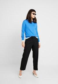 Selected Femme - SLFEMILO CROPPED PANT - Kalhoty - black - 1