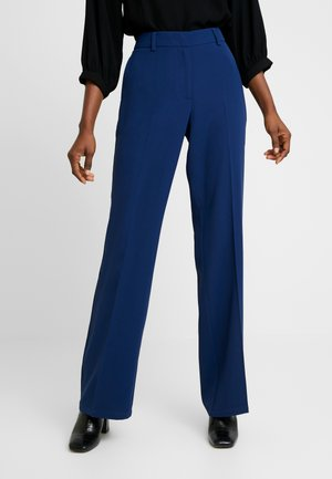 SLFALICIA FLARED PANT B - Trousers - medieval blue