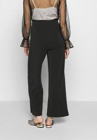 Selected Femme - SLFTUIJA TEA WIDE PANTS - Trousers - black - 2
