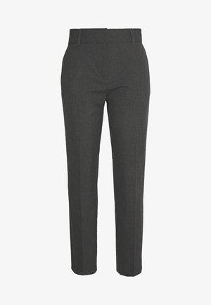 SLFRIA CROPPED PANT - Broek - dark grey melange