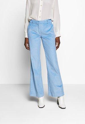 SLFEMILY  - Spodnie materiałowe - della robbia blue