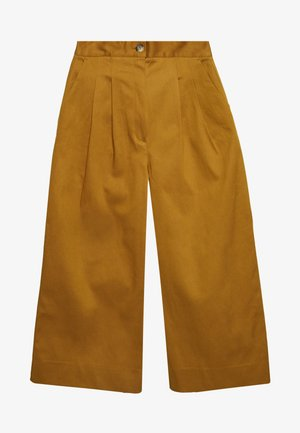 SLFMILLA WIDE PANT - Trousers - bronze brown