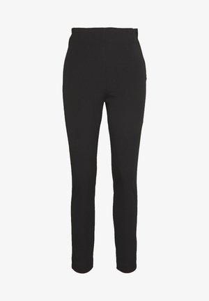 SLFILUE CROPPED SLIM PANT - Pantaloni - black