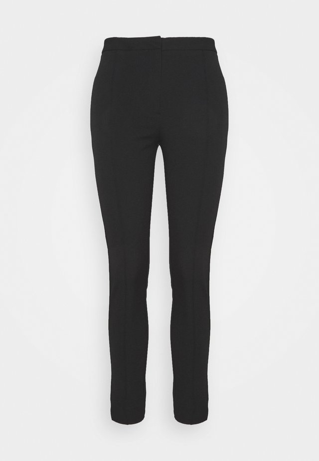 SLFILUE PINTUCK PANT - Broek - black