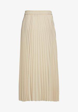 SLFALEXIS - Plisovaná sukně - sandshell