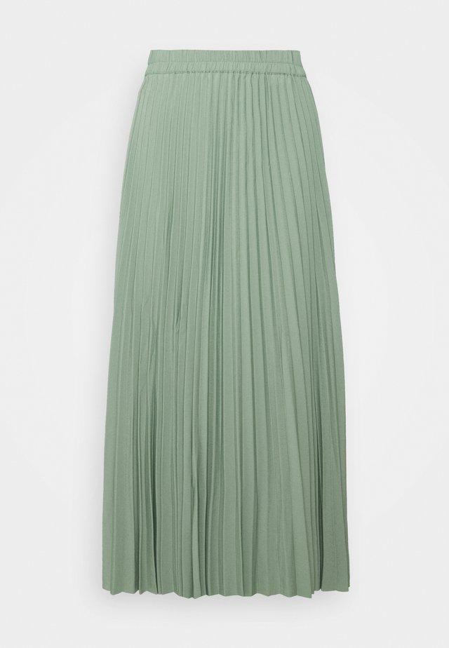 SLFALEXIS SKIRT - A-lijn rok - light green