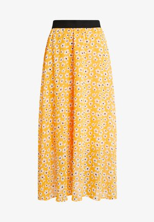 SLFFLEURA ANKLE SKIRT  - Długa spódnica - radiant yellow