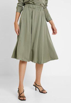 SLFADDA  - Áčková sukně - vetiver