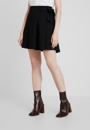 SLFTHORA A LINE SKIRT - Mini skirt - black