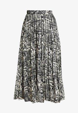 SLFIRMA SKIRT - Pleated skirt - black