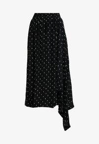 Selected Femme - SLFMELISSA SKIRT - Maxiskjørt - black - 4