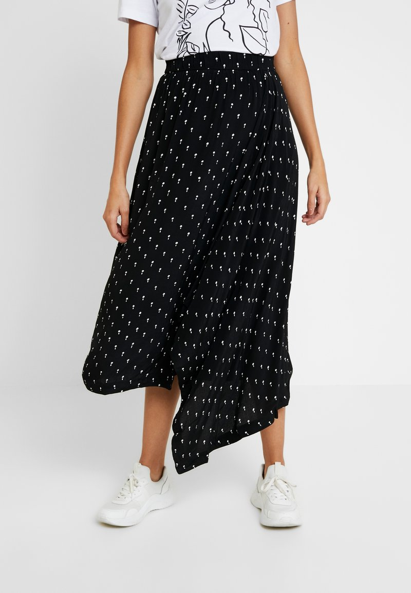 Selected Femme - SLFMELISSA SKIRT - Maxi skirt - black