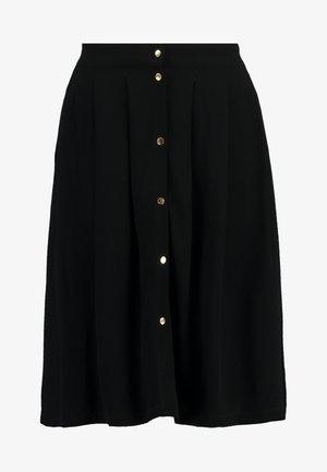 SLFHADLEY SHORT SKIRT - A-lijn rok - black