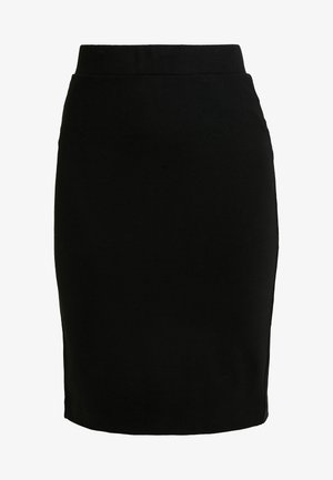 SLFSHELLY PENCIL SKIRT - Pouzdrová sukně - black