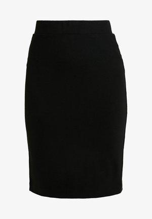SLFSHELLY PENCIL SKIRT - Kynähame - black