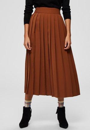 A-line skirt - chipmunk