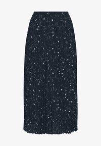 Selected Femme - SLFJOSIE MIDI SKIRT - A-line skirt - dark sapphire - 3