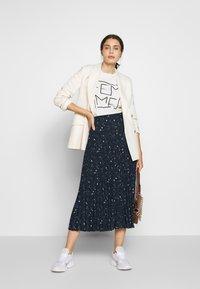 Selected Femme - SLFJOSIE MIDI SKIRT - A-line skirt - dark sapphire - 1